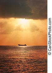 θαλασσογραφία , πλοίο
