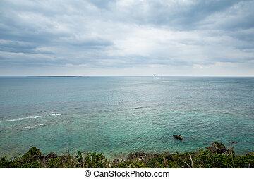 θαλασσογραφία , okinawa