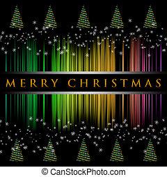 θαυμάσιος , δέντρο , νιφάδα , εικόνα , xριστούγεννα