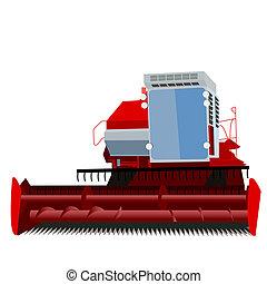 θεριζοαλωνιστική μηχανή είδος ακάρεως