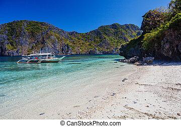 θερμότατος ακρογιαλιά , φιλιππίνες , el-nido