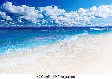 θερμότατος απομονώνω , παραλία , ηλιόλουστος
