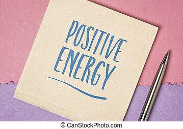 θετικός , ενέργεια , εμπνευστικός , γραφικός χαρακτήρας