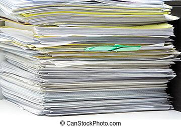 θημωνιά από άγκιστρο για ανάρτηση εγγράφων