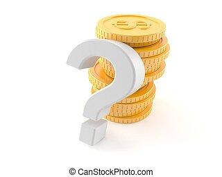 θημωνιά , σημαδεύω , ερώτηση , κέρματα