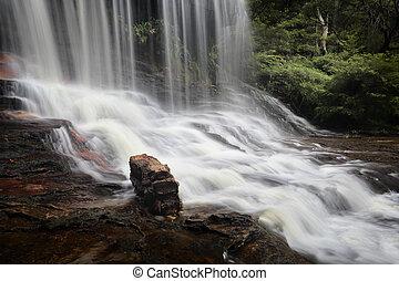 θρήνος , βράχοs , γαλάζιο βουνήσιος , αυστραλία