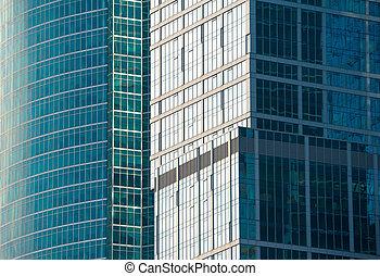 θραύσμα , από , ο , μοντέρνος , ουρανοξύστης