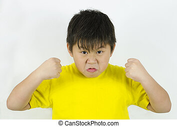 θυμωμένος , παιδί