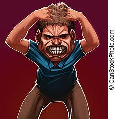 θυμωμένος