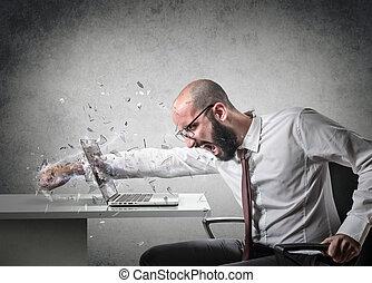 θυμός , έκρηξη