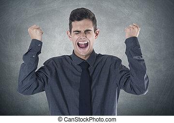 θυμός , επιχειρηματίας , έκφραση