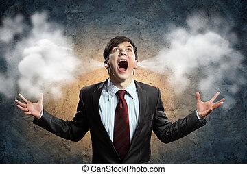 θυμός , επιχειρηματίας