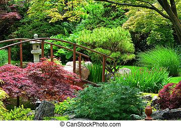 ιάπωνας ασχολούμαι με κηπουρική