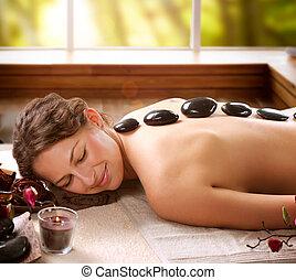 ιαματική πηγή , πέτρα , salon., dayspa, massage.