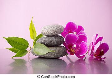 ιαματική πηγή , stones.