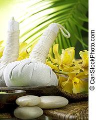ιαματική πηγή , thai , μασάζ