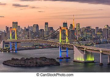 ιαπωνία , γραμμή ορίζοντα , τόκιο , κόλπος