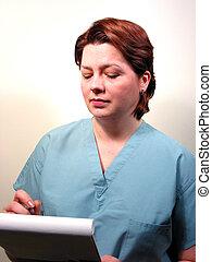 ιατρικός ακάνθουρος , ή , νοσοκόμα , 4