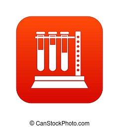 ιατρικός ανάλυση , αγωγός , μέσα , κάτοχος , εικόνα , ψηφιακός , κόκκινο