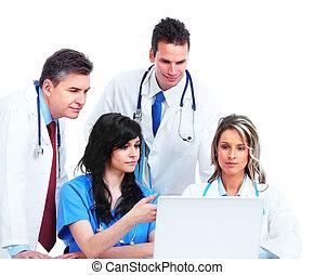 ιατρικός , γιατροί , group.