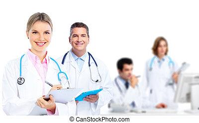 ιατρικός , group., γιατροί