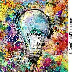 ιδέα , γραφικός , δημιουργικός