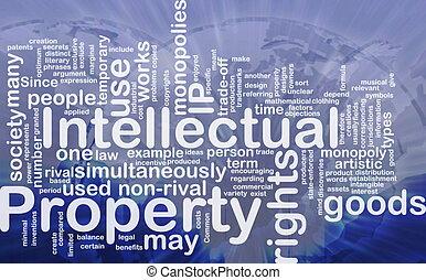 ιδιοκτησία, περιουσία , γενική ιδέα , διανοούμενος , φόντο