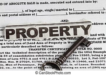 ιδιοκτησία, περιουσία
