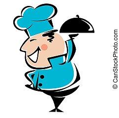 ιλαρός , αρχιμάγειρας