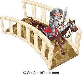 ιππότης , και , γέφυρα