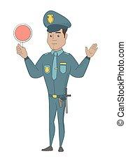 ισπανικός , αναχωρώ. , κυκλοφορία , κράτημα , αστυνομικόs