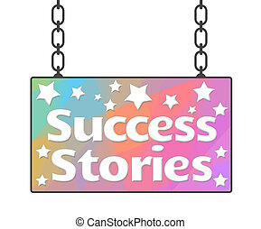 ιστορίες , γραφικός , πίνακας υπογραφών , επιτυχία