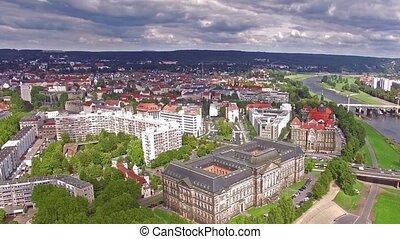 ιστορικός , κέντρο , από , dresden.