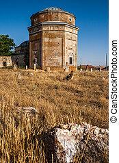 ιστορικός , τάφος , από , ντιβανοκασέλα , εποχή