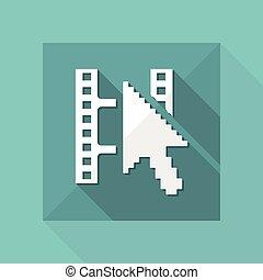 ιστός , απομονωμένος , εικόνα , μονό , μικροβιοφορέας , βίντεο , εικόνα