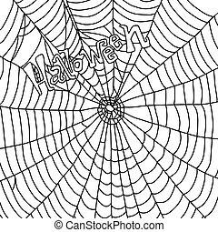 ιστός , μικροβιοφορέας , μαύρο , χέρι , παραμονή αγίων πάντων , απομονωμένος , γράφω άσκοπα , αράχνη , τιμωρία σε μαθητές να γράφουν το ίδιο πολλές φορές , φόντο , εικόνα , δραμάτιο , άσπρο , μετοχή του draw , λέξη