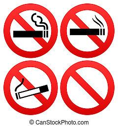 κάπνισμα , όχι , σήμα