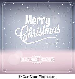 κάρτα , μαγεία , xριστούγεννα , φόντο , νύκτα