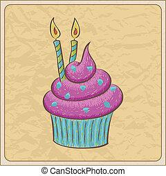 κάρτα , cupcake