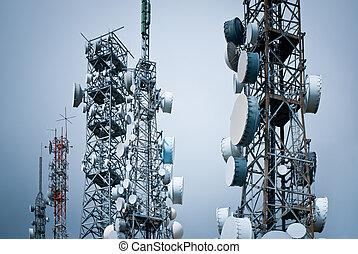 κάστρο , τηλεπικοινωνία