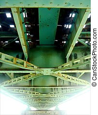κάτω από , ο , γέφυρα