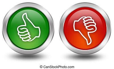 κάτω , κουμπιά , ψηφοφορία , αντίστοιχος δάκτυλος ζώου ανακριτού