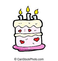 κέηκ, γενέθλια, γελοιογραφία