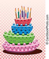 κέηκ, γενέθλια