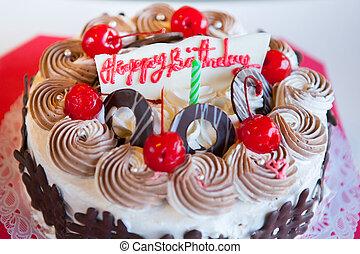κέηκ , γενέθλια , ευτυχισμένος