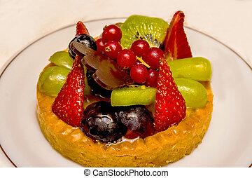κέηκ , γλυκός , φρούτο