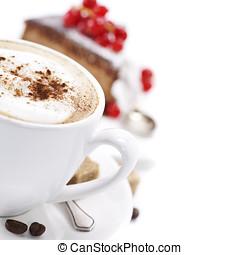 κέηκ , καφέs , σοκολάτα