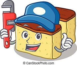 κέηκ , χαρακτήρας , υδραυλικός , βάζο , castella