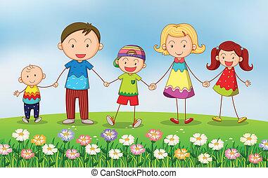 κήπος , οικογένεια