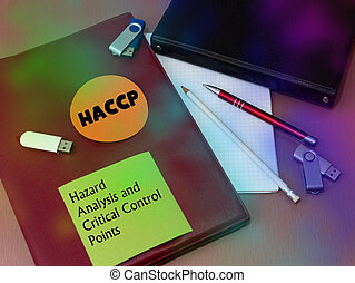 κίνδυνοs , ιατρικός , επικριτικός , haccp, διακόπτης , ανάλυση , points., concept.